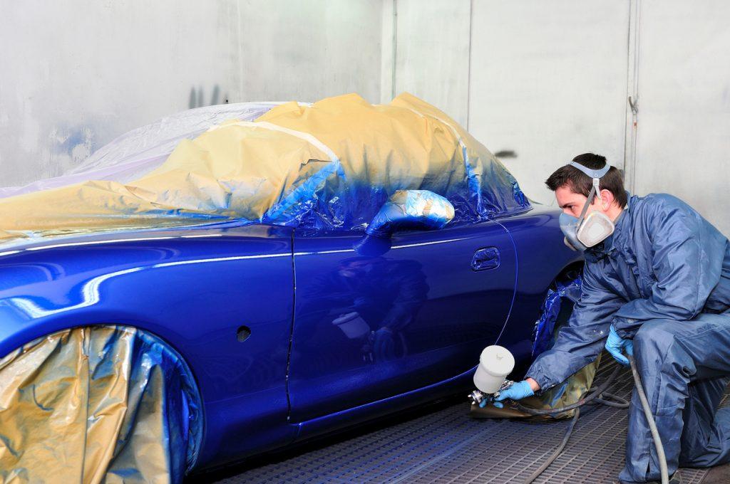 CAP Peintre en carrosserie